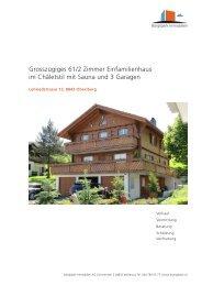 Grosszügiges 61/2 Zimmer Einfamilienhaus im ... - Homegate.ch