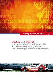 xProLog und xProFLG - Suchy Data Systems GmbH