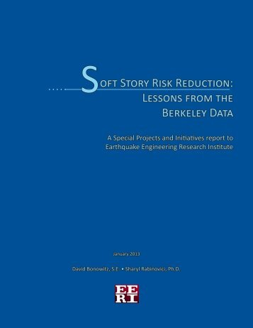 oft Story Risk Reduction - Earthquake Engineering Research Institute