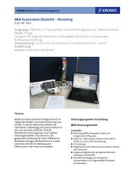 B&R Automation (Elektrik) – Workshop