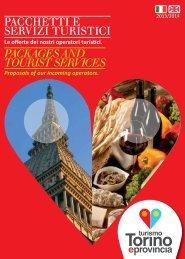 Pacchetti e servizi turistici 2013/2014 - Turismo Torino