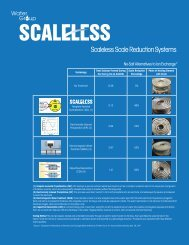 Scaleless Scale Reduction Systems - ACP Water Treatment Ltd