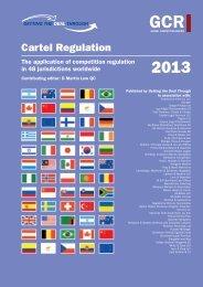 Cartel Regulation - Drew & Napier LLC