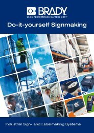 Do-it-yourself Signmaking - Brady
