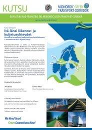 KUTSU ITÄ LÄNSI YHTEYDET SEMINAARI 02112011.pdf - NECL II