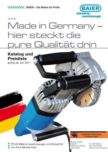 NEU! - Industrievertretung R. Krause GmbH