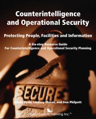 Counterintelligence and Operational Security - Government Training ...