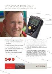 Swissphone BOSS 925 - bei Comtec GmbH