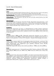 Case IH – Puma 210 Multicontroller Dane techniczne ... - Tech-Kom