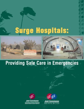Providing Safe Care in Emergencies - Joint Commission