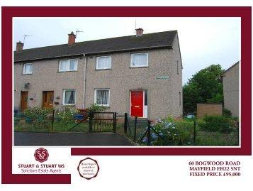 60 bogwood road mayfield eh22 5nt fixed price ... - Stuart & Stuart