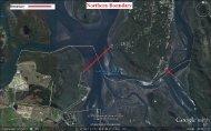 Boundary map - bream