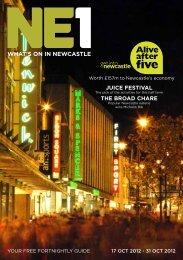 WHAT'S ON IN NEWCASTLE JUICE FESTIVAL ... - Newcastle NE1