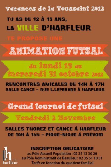 Animation Danse Africaine - La ville d'Harfleur