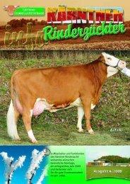 info 4 . 2 0 0 8 - Kärntner Rinderzuchtverband