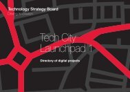 Tech City Launchpad 1 Directory of Digital Projects