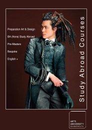 Study Abroad Brochure 2013.pdf - Arts University Bournemouth