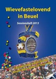 Sessionsheft 2013 - Beueler Wäscherprinzessin