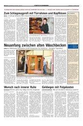 Neuanfang zwischen alten Waschbecken -  Journalisten Akademie