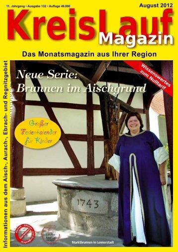 KreisLauf-Magazin Ausgabe August 2012