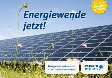 Energiewende jetzt! - Heidelberger Versorgungs