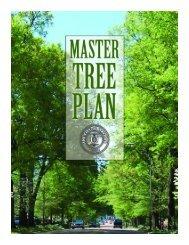 City of Oxford Master Tree Plan