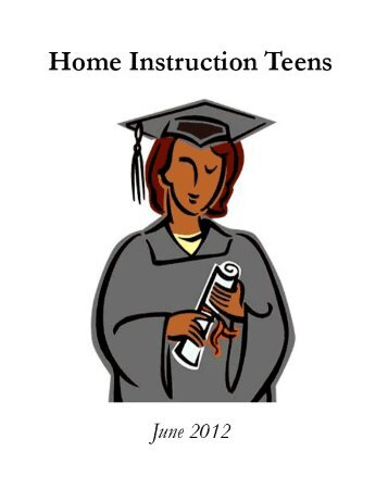 table of contents - Home Instruction