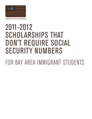 2011-2012 scholarships that don't require social security ... - SWER