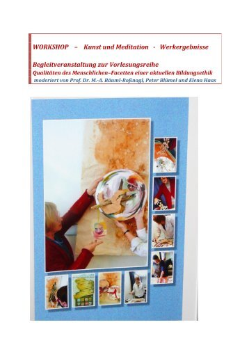 WORKSHOP – Kunst und Meditation - Baeuml-rossnagl.de