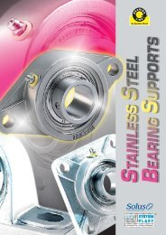 System Plast Stainless Steel Bearing Support Brochure - Form 22409E