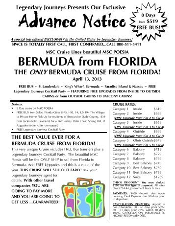 04 13 2013 MSC Poesia Bermuda.P - Legendary Journeys