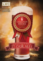 Hereford Cask Ale - LWC