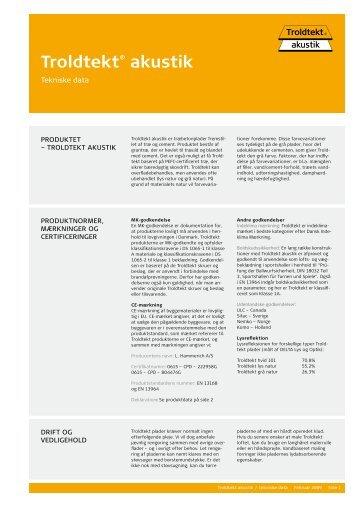 Troldtekt® akustik - Tepo AS