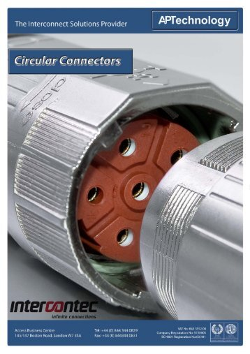 Intercontec Circular Connectors - AP Technology