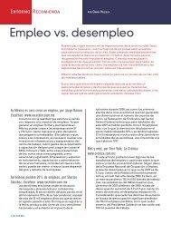 Empleo vs. desempleo - Coparmex