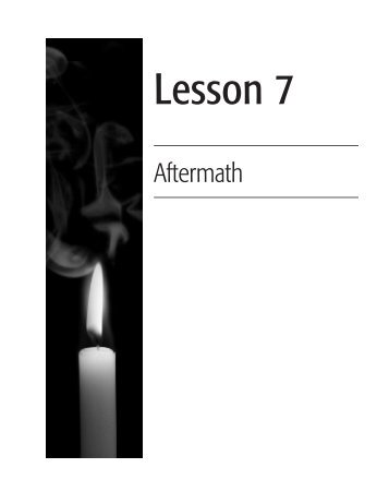 Lesson 7 - The Holocaust and Human Rights Education Center