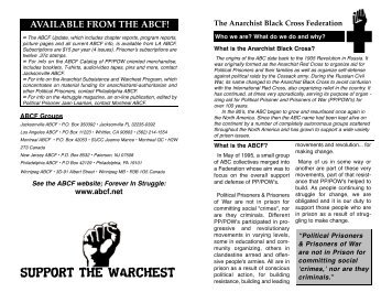 SUPPORT THE WARCHEST - Zine Library