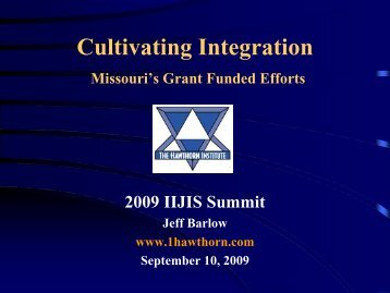 Cultivating Integration: Missouri's Grant-Funded Efforts