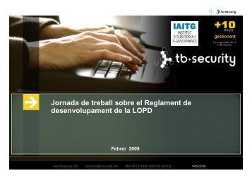 Haga clic para cambiar el estilo de título - Institute of Audit & IT ...