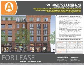 901 MONROE STREET, NE - Asadoorian Retail Solutions > Home