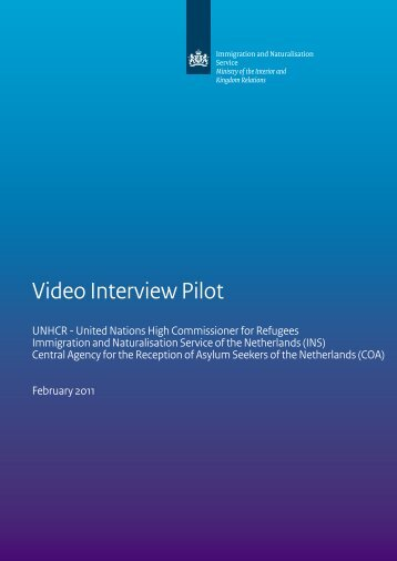 Annex 12 Pilot Video Interview ENG.pdf - EU Resettlement Network