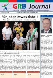 Journal - GRB Stassfurt eV