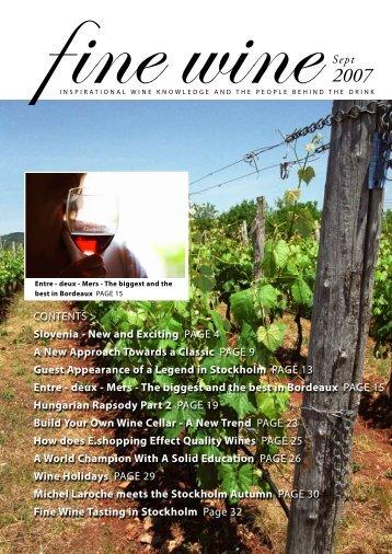 2 - Fine wine magazine