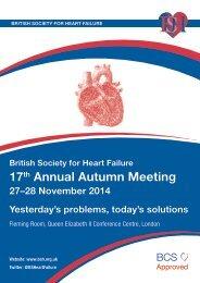 BSH-autumn-meeting-2014