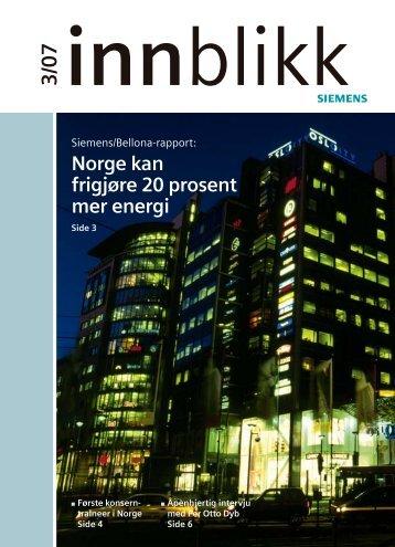 Norge kan frigjøre 20 prosent mer energi - Siesenior.net