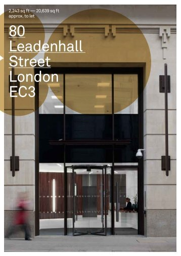 80 Leadenhall Street London EC3 - Capita Symonds