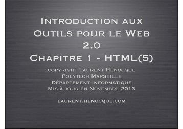 tr - Laurent Henocque