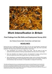 Work Intensification in Britain - llakes