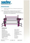 Heizkalander - Suchy Textilmaschinenbau GmbH - Seite 2