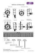 Manometer mit Kapselfedermessglied in Edelstahlausführung - Page 2